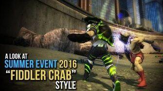 DCUO Summer Seasonal Event 2016 - Fiddler Crab Style