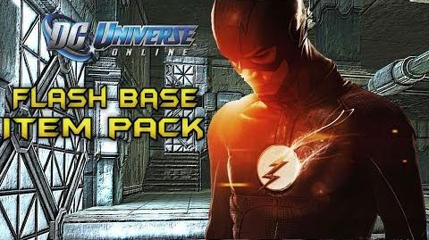 DCUO The Flash Base Item Pack