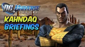 Dc Universe Online Kahndaq Briefings