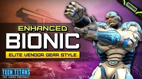 """DCUO Episode 32 """"Enhanced Bionic"""" Elite Vendor Gear Style (Inspired by Cyborg)"""