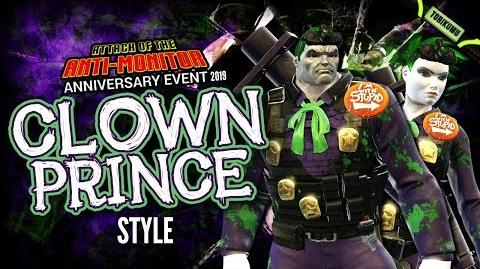 """DCUO Anniversary Event 2019 """"Clown Prince"""" Style (Inspired by Future Joker)"""