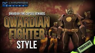 DCUO Qwardian Fighter Style Qwardian Time Capsules