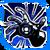 Icon Hand Blast 008 Blue