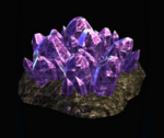 Short Zamaron Crystal Growth