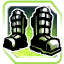 Icon Feet 005 Green