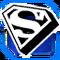 BI Superman Sign Blue