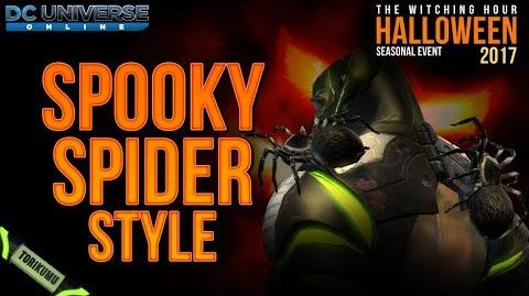 DCUO Halloween Event 2017 Spooky Spider Style