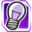 BI Light Bulb Purple