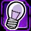 BI Light Bulb Purple