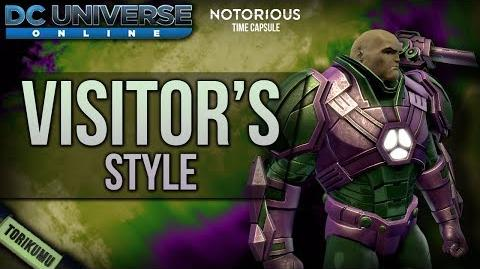 DCUO Visitor's Style (inspired by Alexander Luthor) Notorious Time Capsule