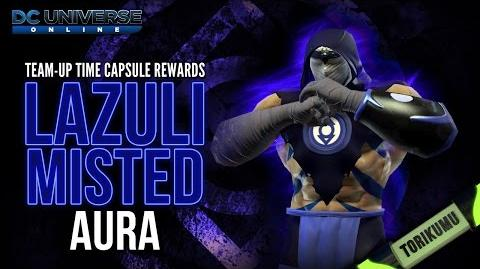 """DCUO """"Compassion is for Everyone"""" Collection Reward - Lazuli Misted Aura"""