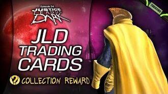 """DCUO Episode 34 """"JLD Trading Cards"""" Collection Reward - Cloak of Nabu's Chosen"""