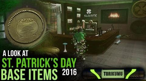 DCUO St Patrick's Day 2016 Base Items