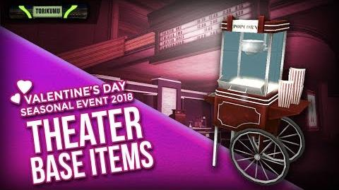DCUO Valentine's Day Event 2018 Theater Base Items