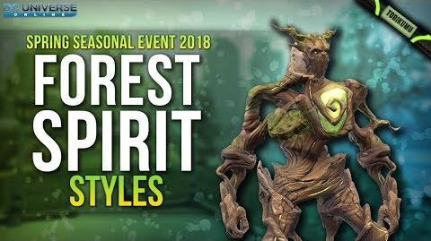 DCUO Forest Spirit Styles (Chest & Legs) Spring Event 2018