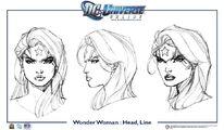 WonderWoman head line