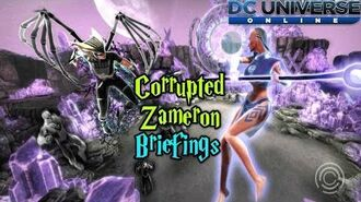DC Universe Online Corrupted Zameron Duo Briefings