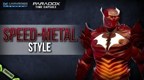 DCUO Speed-Metal Style (Inspired by The Red Death) Paradox Time Capsules