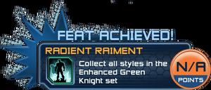 Feat - Radient Raiment
