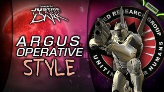DCUO Episode 34 A.R.G.U.S. Operative Style (Inspired by Steve Trevor)