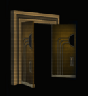 Theater Doors - Open