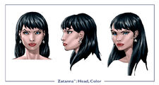 Zatanna head color