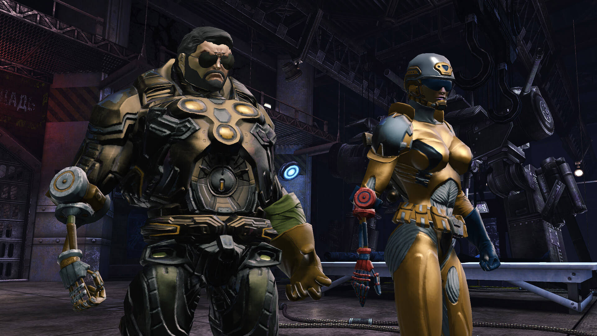 Robotic Arm Style Dc Universe Online Wiki Fandom Powered By Wikia