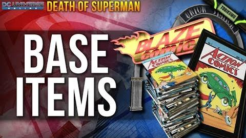 DCUO Death of Superman Base Items