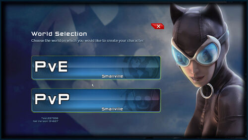 1 DCUO Login ServerSelect 01