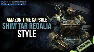 DCUO Shim'Tar Regalia Style DCUO Amazon Time Capsule