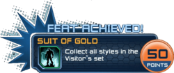 Feat - Suit of Gold
