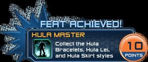 Feat - Hula Master