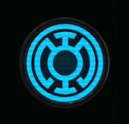 Blue Lantern Corps Wall Banner