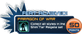 Feat - Paragon of War