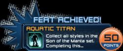 Feat - Aquatic Titan