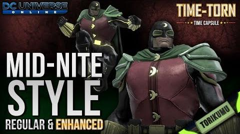 DCUO Mid-Nite Style and Enhanced Mid-Nite Style