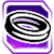 Icon Ring 016 Purple
