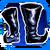 Icon Feet 009 Blue