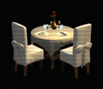 Romantic Dining Table