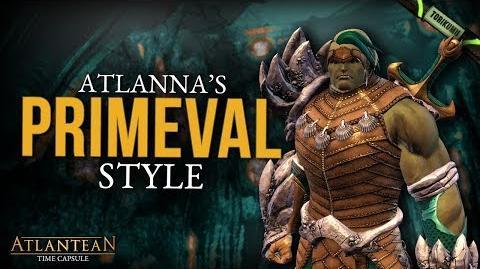 DCUO Primeval Style (Inspired by Atlanna) Atlantean Time Capsule