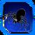Icon Spider Blue