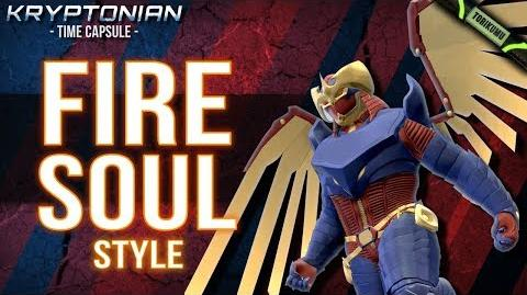 DCUO Fire Soul Style (Inspired by Flamebird) Kryptonian Time Capsules