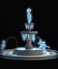 Frozen Cherub Fountain