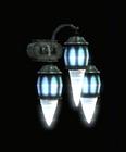 Frozen Wall Lamp - Triple