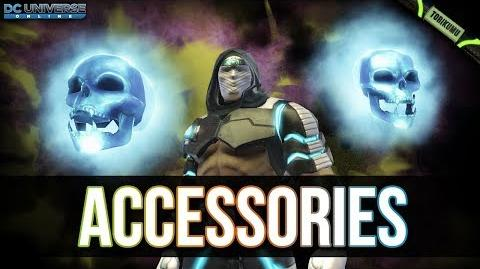 DCUO Accessories - A New Genre of Styles Resurgence Mega Capsules