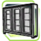 BI Cabinet II Green