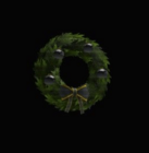 Batman Holiday Wreath