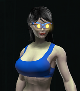 Miniaturized Synthium Goggles equipped