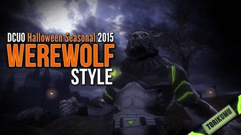 DCUO Halloween Event 2015 Werewolf Style