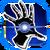 Icon Hand Blast 001 Blue